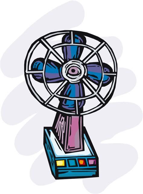 clip on electric fan hvac clipart free cliparts co