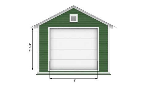garage shed plan shedplansorg