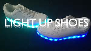 light up light up shoes unboxing