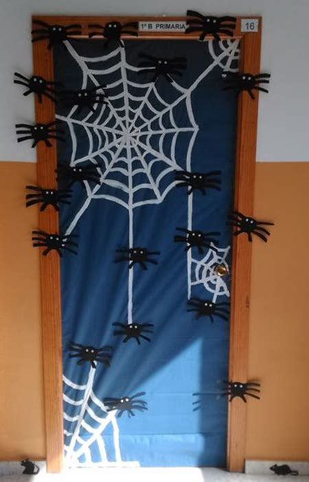 ideas para decorar en halloween ideas para decorar puertas en halloween halloween