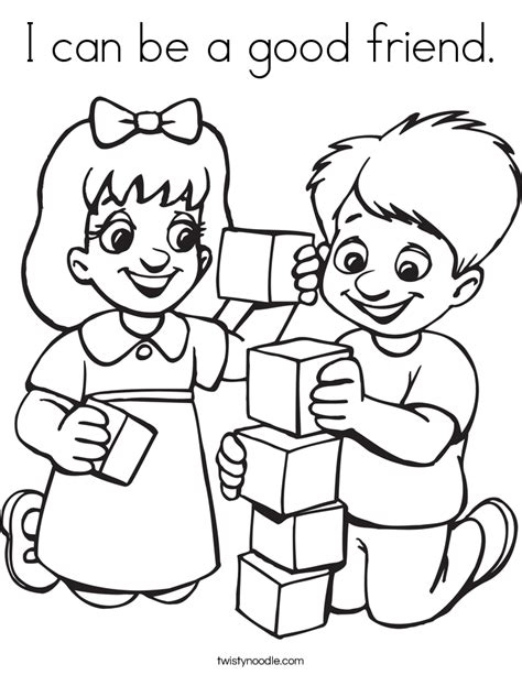 I Can Be A Friend Coloring Page how can i be a friend best friend quotes