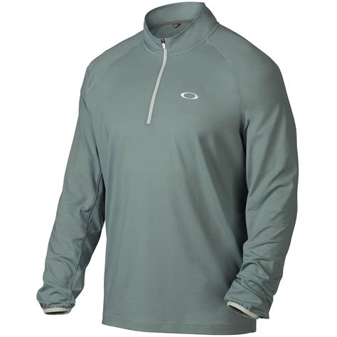 Sweater Oakley 1 Original 1 oakley golf mens theo 1 4 zip golf cover up sleeve pullover sweater ebay