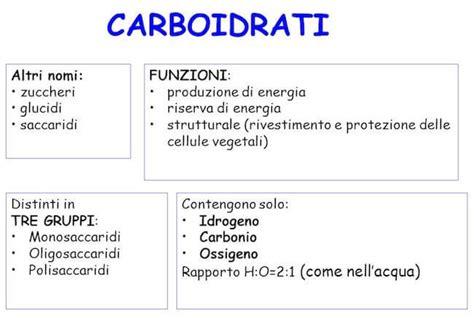 tabella carboidrati alimenti carboidrati