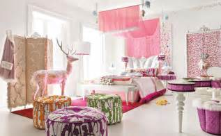 Bedrooms for teens this baby pink room with built in living room