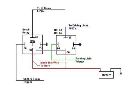 hella relay wiring diagram wiring diagrams