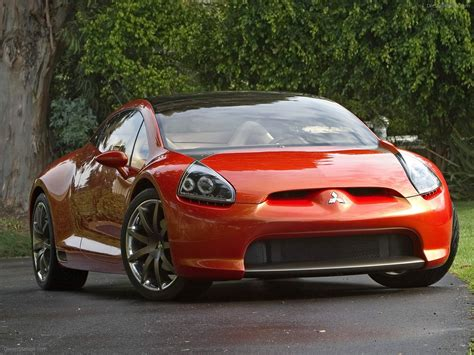 mitsubishi eclipse concept mitsubishi eclipse concept e car picture 001 of 7