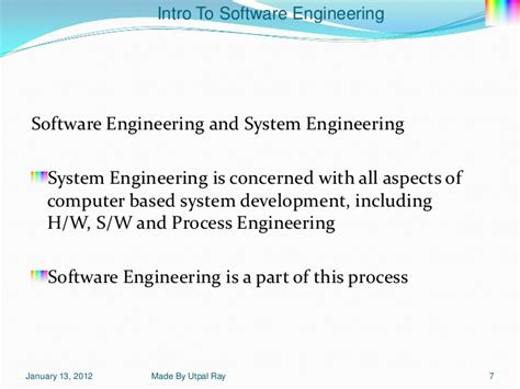 Mba Courses Useful For Software Engineers by 01 Software Engineering Aspects