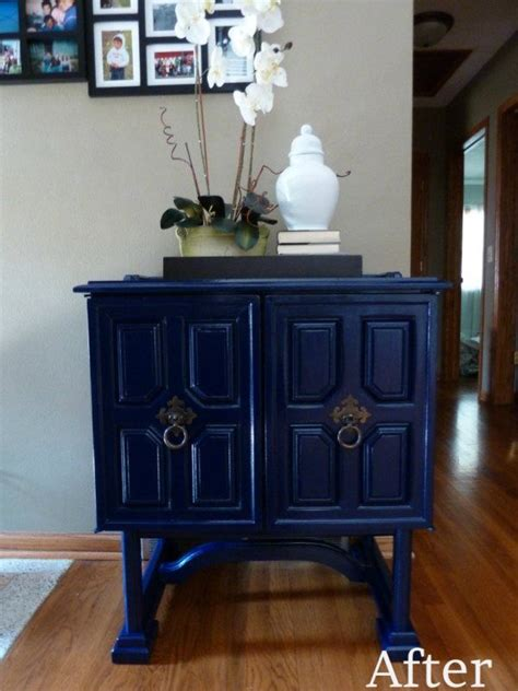 chalk paint glossy finish 165 best paint it blue images on painted