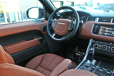 2015 White Range Rover Tan Interior Land Rover