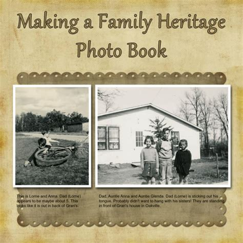 layout family history book beautiful heritage photo album ideas collections photo
