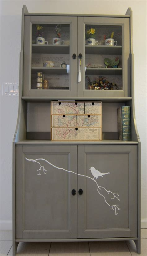 Kitchen Hutch Furniture | a hutch cabinet for the kitchen nook margarete miller