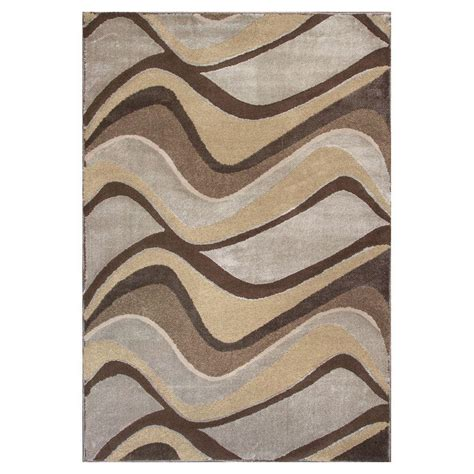 Donny Osmond Home Metallic Visions Silver 9 Ft X 13 Ft Metallic Area Rugs