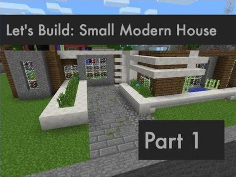 building a house part 1 it begins viva la violet lets build small modern house part 1 minecraft pocket