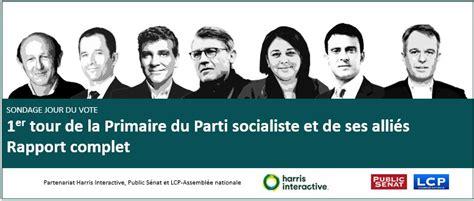si鑒e du parti socialiste rapport complet 1er tour de la primaire de la gauche