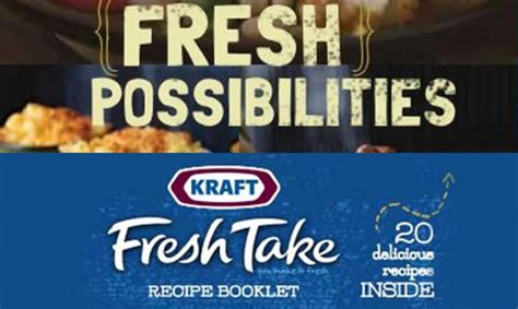 ten fresh takes books enjoy your favorite kraft products even more with this