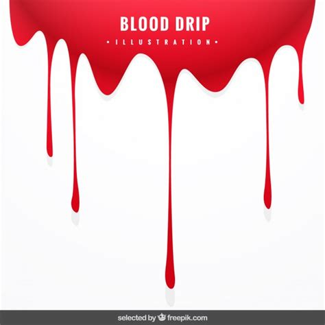 background with blood drip vector free download
