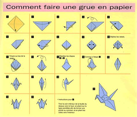 How To Make A Origami Goose - simple make a bird origami with a paper sweet souvenir