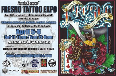 fresno tattoo expo events wave gallery