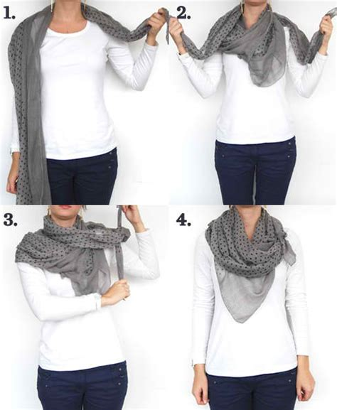 11 different ways to wear a scarf this winter
