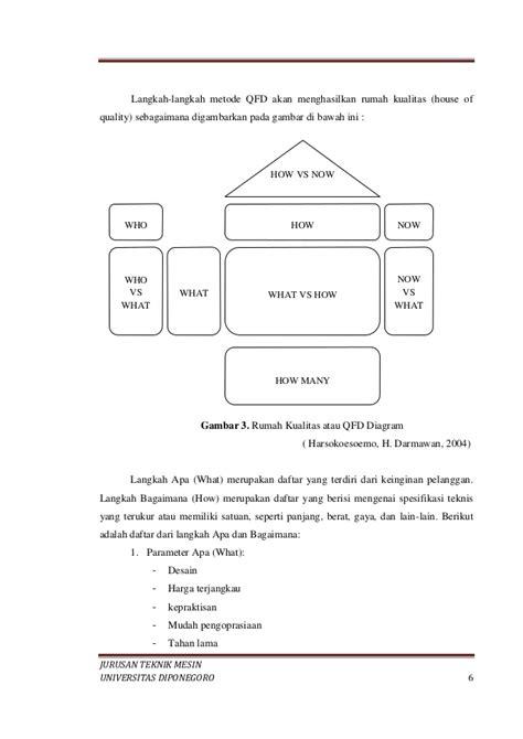 membuat qfd gambar quality function deployment gambar rumah kualitas