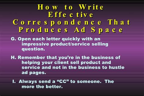 how to write emails sales letters proposals that slides