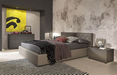 high end master bedroom set luxury furniture for your home made in italy leather modern design bed set louisville