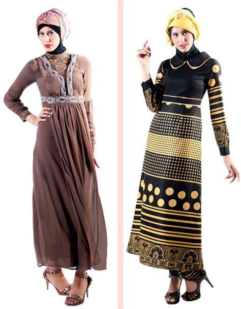 Gamis Wanita Sholeha koleksi 15 gambar baju gamis muslim brokat terbaru 2015