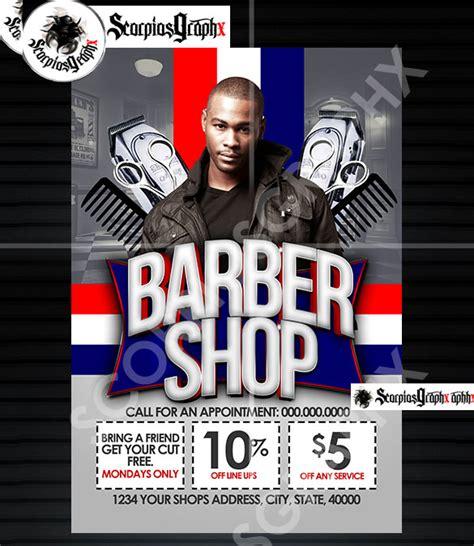 22 Best Barbershop Flyer Templates Designs Psd Ai Word Free Premium Templates Free Barber Shop Website Template