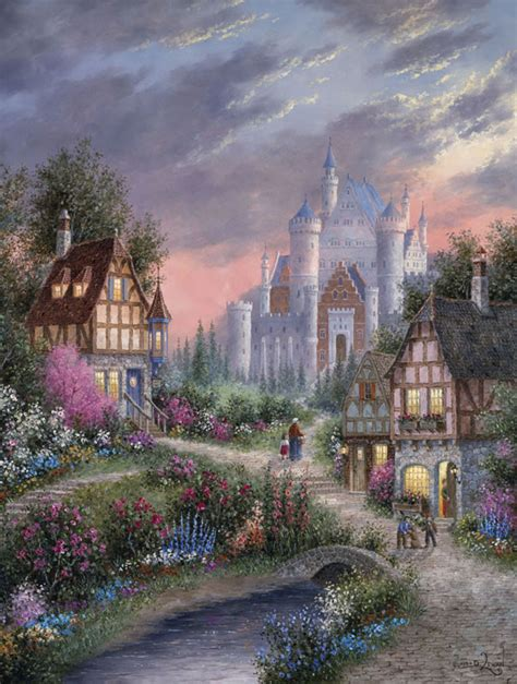 Enchanted Castle enchanted castle jigsaw puzzle puzzlewarehouse