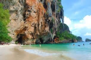 Railay beach the tropical paradise in thailand traveldigg com
