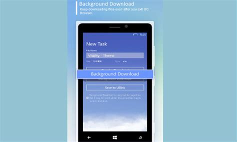 uc themes center uc browser for windows phone launched with background