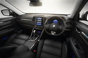 Renault Koleos Interior All New Renault Koleos Makes Global Debut In Australia