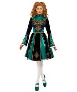 adult traditional irish dancer plus costume halloween