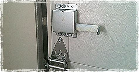 Install Garage Door Lock home security protecting against garage door ins