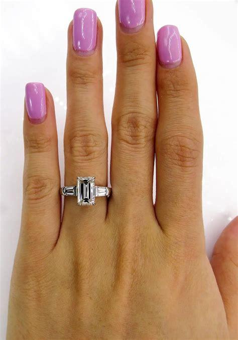 Timeless GIA 2.42ctw Estate Vintage Emerald Cut Diamond