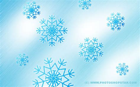 tutorial photoshop winter how to create vector snowflakes tutorials design