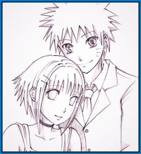 imagenes de amor para dibujar anime imagenes animes enamorados con frases y para dibujar