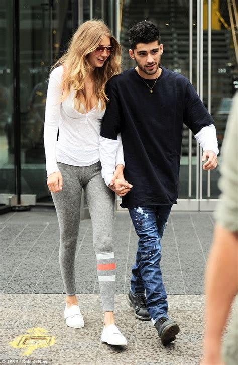 gigi hadid and zayn malik look absolutely besotted as they