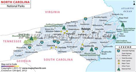 carolina state parks map carolina outdoor recreation