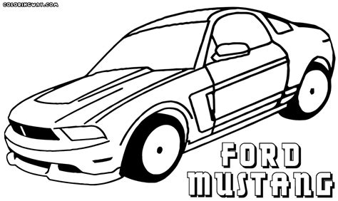 mustang coloring sheet ford mustang coloring pages coloring pages to