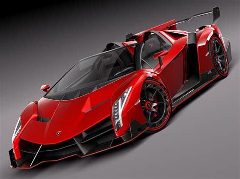 Sport Car Lambo Veneno lamborghini veneno roadster 2014 3d model max obj 3ds
