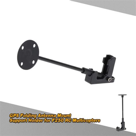 gps folding antenna mount support holder for f250 rc multicopters rcmoment