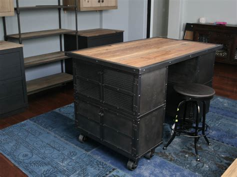 industrial kitchen islands combine 9 industrial furniture industrial kitchen