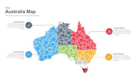 australia map powerpoint and keynote template slidebazaar