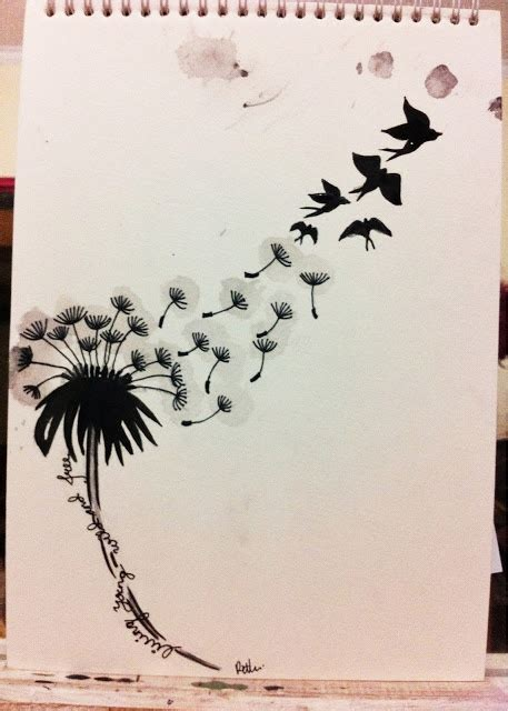 dandelion tattoo meaning yahoo 1000 images about dandelion tattoos on pinterest