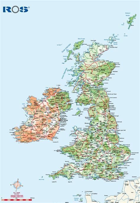 map uk vector mapas de uk