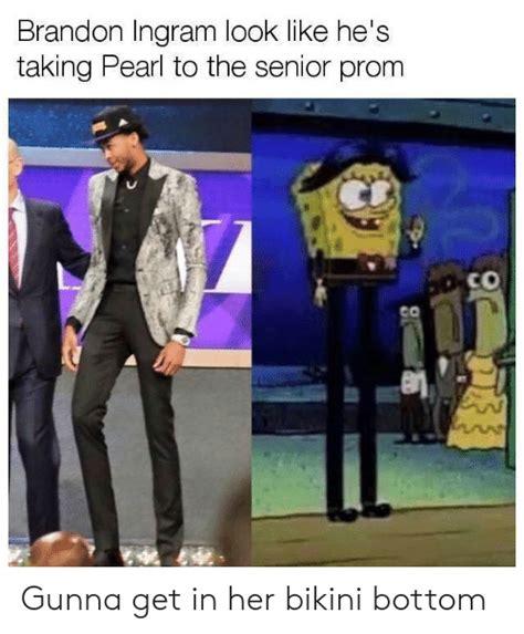 Brandon Ingram Meme Spongebob