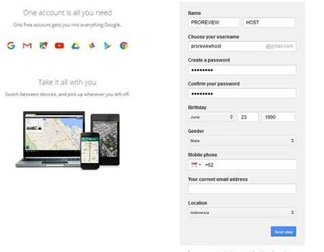Membuat Akun Google Mail | cara membuat akun gmail google mail gratis