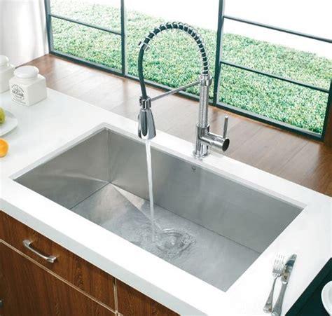 how big are sinks vigo undermount rectangular stainless steel