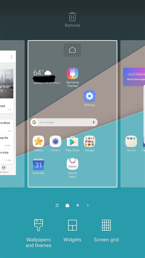 themes galaxy fit samsung galaxy s7 nougat grace ux theme how can you get